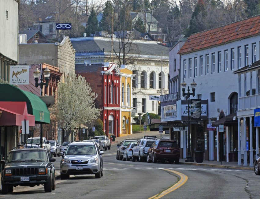 Main Street of Placerville, California